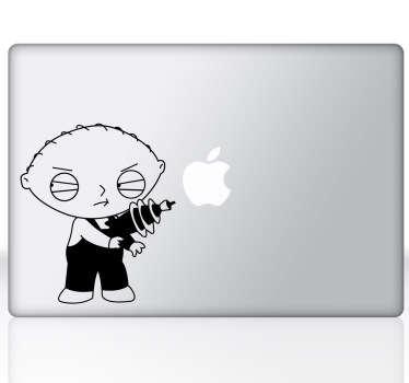 Family Guy Stewie Laptop Sticker