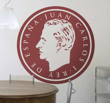 Juan Carlos Antiker Aufkleber