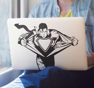 Superman MacBook Sticker