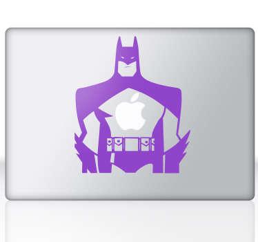 Sticker mac apple Batman