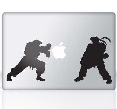 Vinilo decorativo Street Fighter para Mac