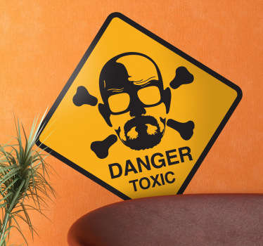 Adhesivo breaking bad danger