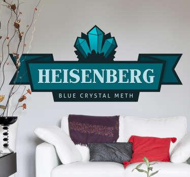 Heisenberg Logo Sticker