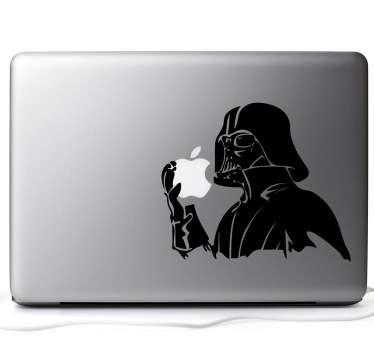 Vinilo decorativo Darth Vader para MacBook