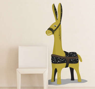 Kids Donkey Wall Sticker