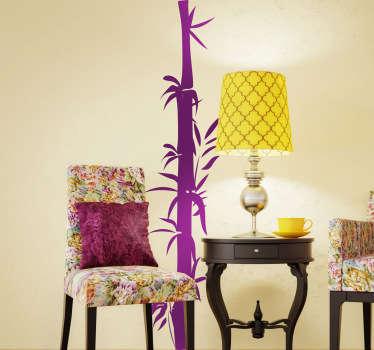 Vinilo decorativo caña de bambú