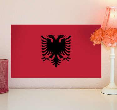Adesivo murale bandiera Albania