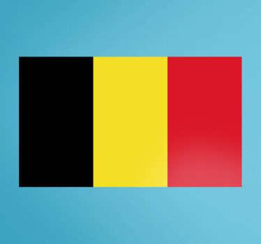 Flag of Belgium Wall Sticker