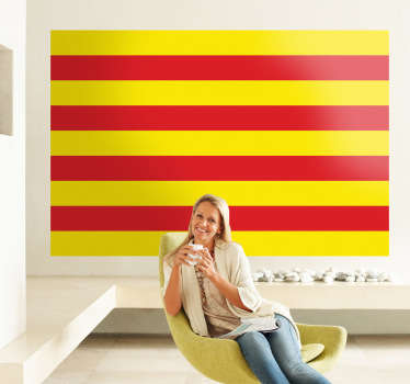 Naklejka flaga Katalonii