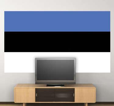 Wandtattoo Flagge Estland