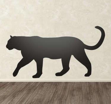 Panther Aufkleber