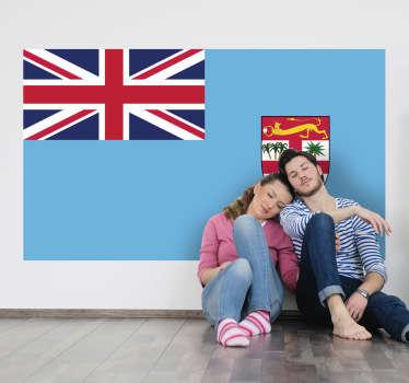 Wandtattoo Flagge Fiji
