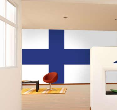 Suomen Lippu Seinätarra