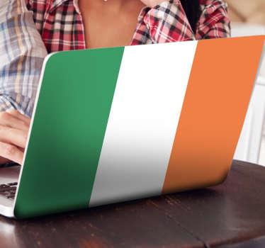 Adesivo murale bandiera Irlanda