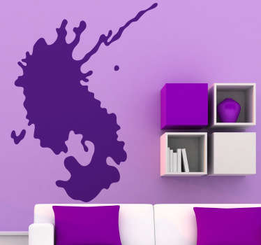 Room Stickers - unique design, a splash of colour on the walls. Original and simple designs from Tenstickers to help you decorate.