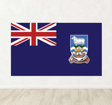 Decals - The Falkland Islander flag. Ideal for homes or businesses. Suitable for personalising gadgets and appliances. Available in various sizes.
