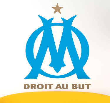 Adhesivo escudo Olympique de Marseille