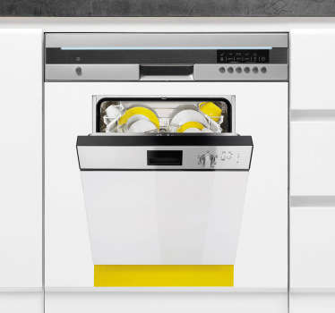 Dishwasher Decal
