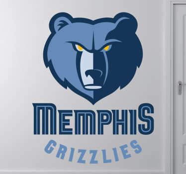 Sticker logo basketbal Memphis Grizzlies