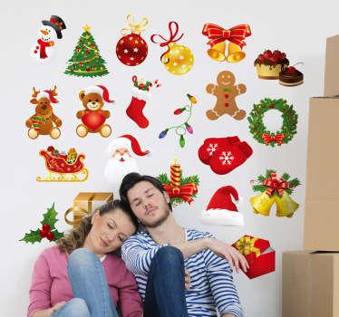 Christmas Decoration Stickers