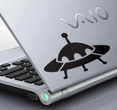 Laptopsticker UFO