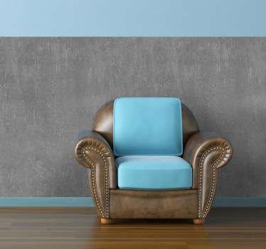 Simula que las paredes de tu casa son de puro cemento con este fantástico vinilo.