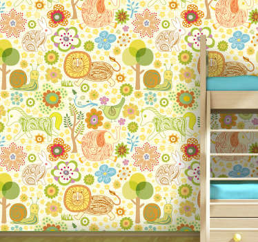 Kids Nature Vinyl Sheet