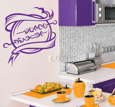 Sticker cuisine brochettes