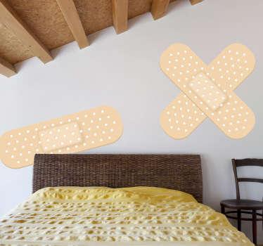Muursticker decoratieve pleisters