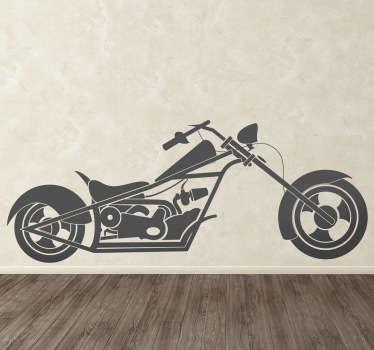 Sticker moto chopper
