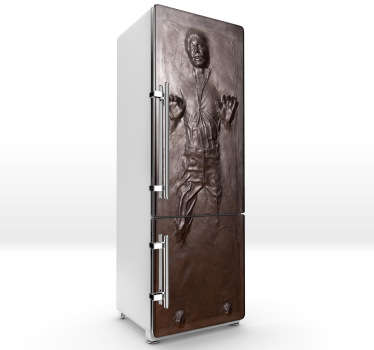 Sticker frigo Han Solo carbonite