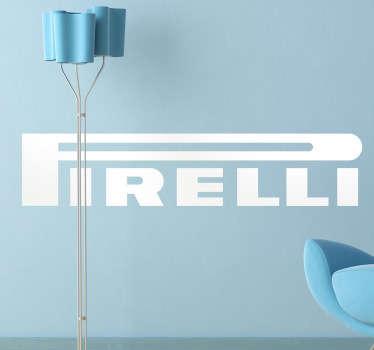 Naklejka dekoracyjna logo Pirelli