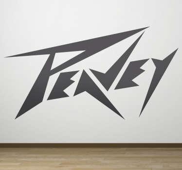 Vinilo decorativo logo Peavey
