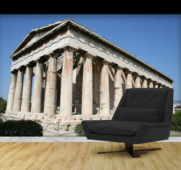Photo Murals - inspired by the ancient citadel of Athens - Acropolis photographic art.Decorate your home with wall decals from Tenstickers