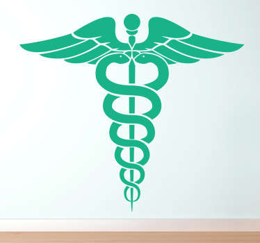 Vinilo decorativo icono medicina