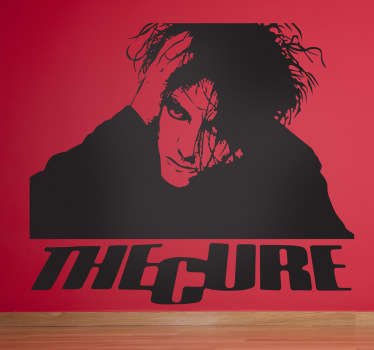 The Cure Music Sticker