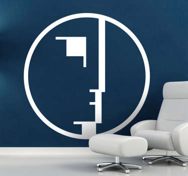 Vinilo decorativo logo Bauhaus