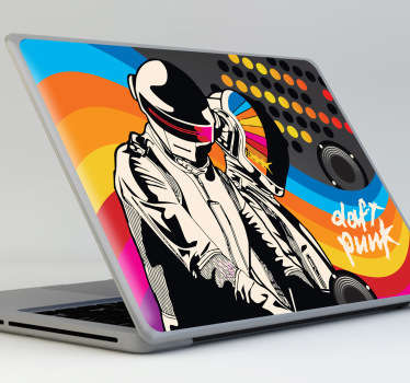 Sticker Daft Punk portatile