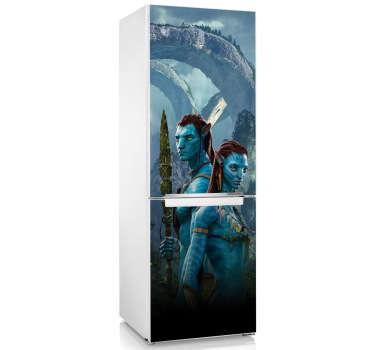 Sticker decorativo frigo Avatar
