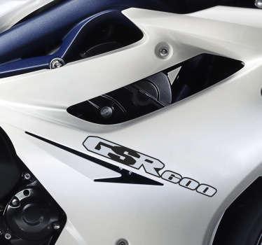 Sticker decorativo logo Suzuki GSR 600