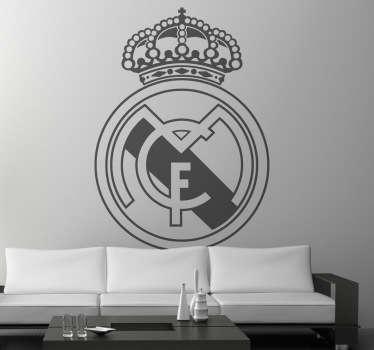 Adesivo murale scudo Real Madrid