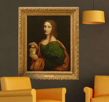 Adhesivo decorativo cuadro Giampietrino