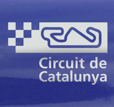 Circuit Catalunya Sticker