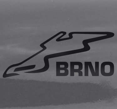 BRNO Circuit Decorative Sticker
