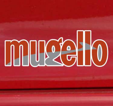 Mugello Circuit Logo Sticker