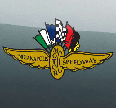 Sticker logo Indianapolis
