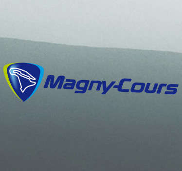 Sticker decorativo logo Magny-Cours