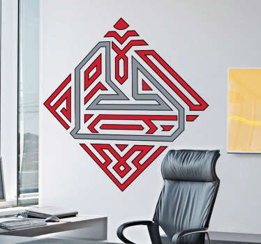 Sticker decorativo logo circuito Bahrein