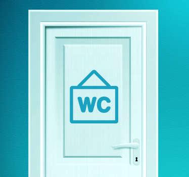 Toilet Poster Sticker