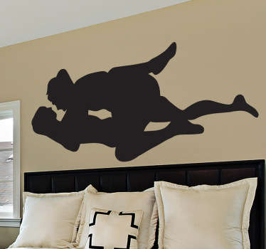 An erotic sticker to really liven things up on the wall of your bedroom! Choose your size and buy now! Choose your size.